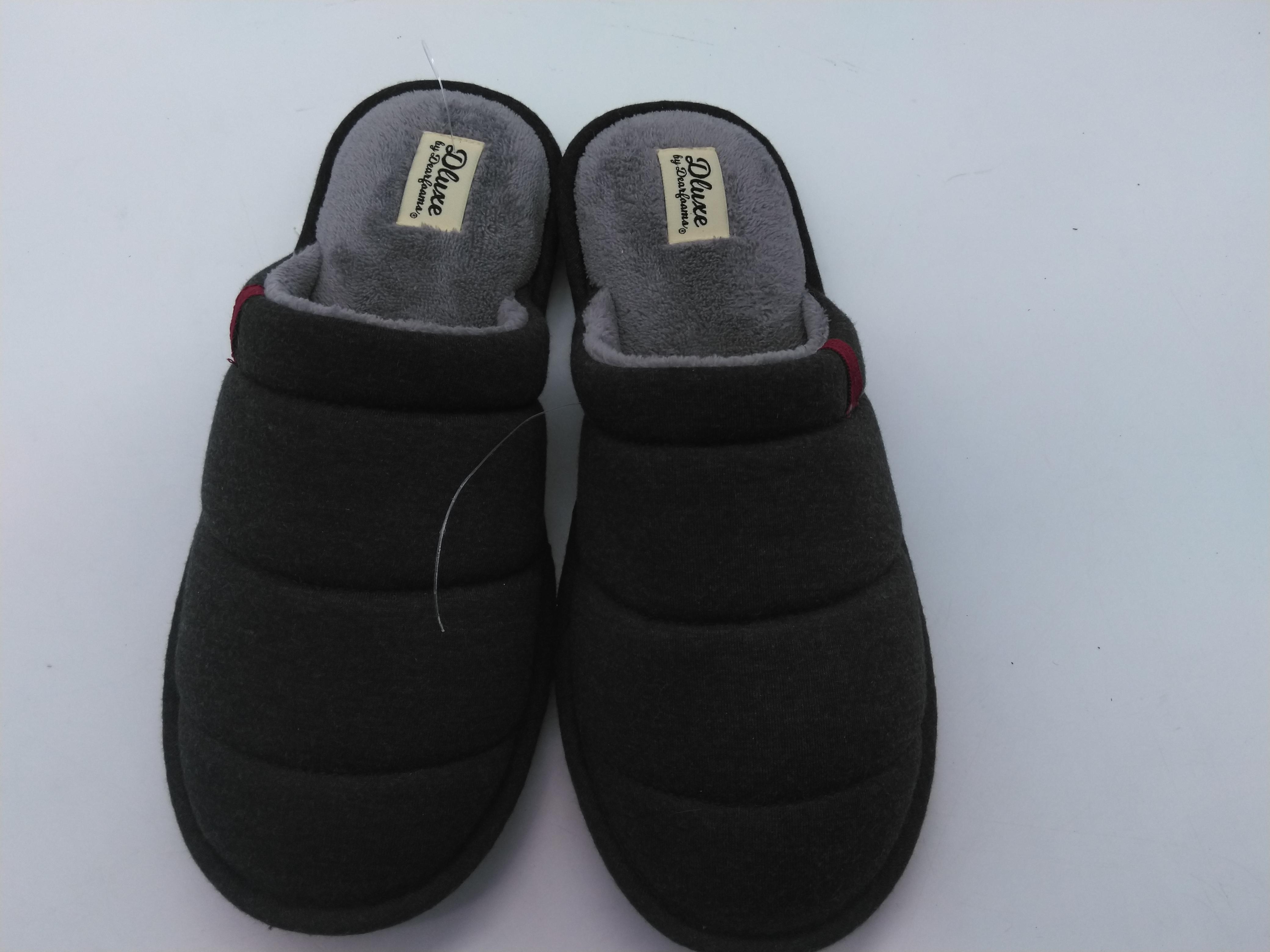 Dluxe By Dearfoams Slippers Size 9-10