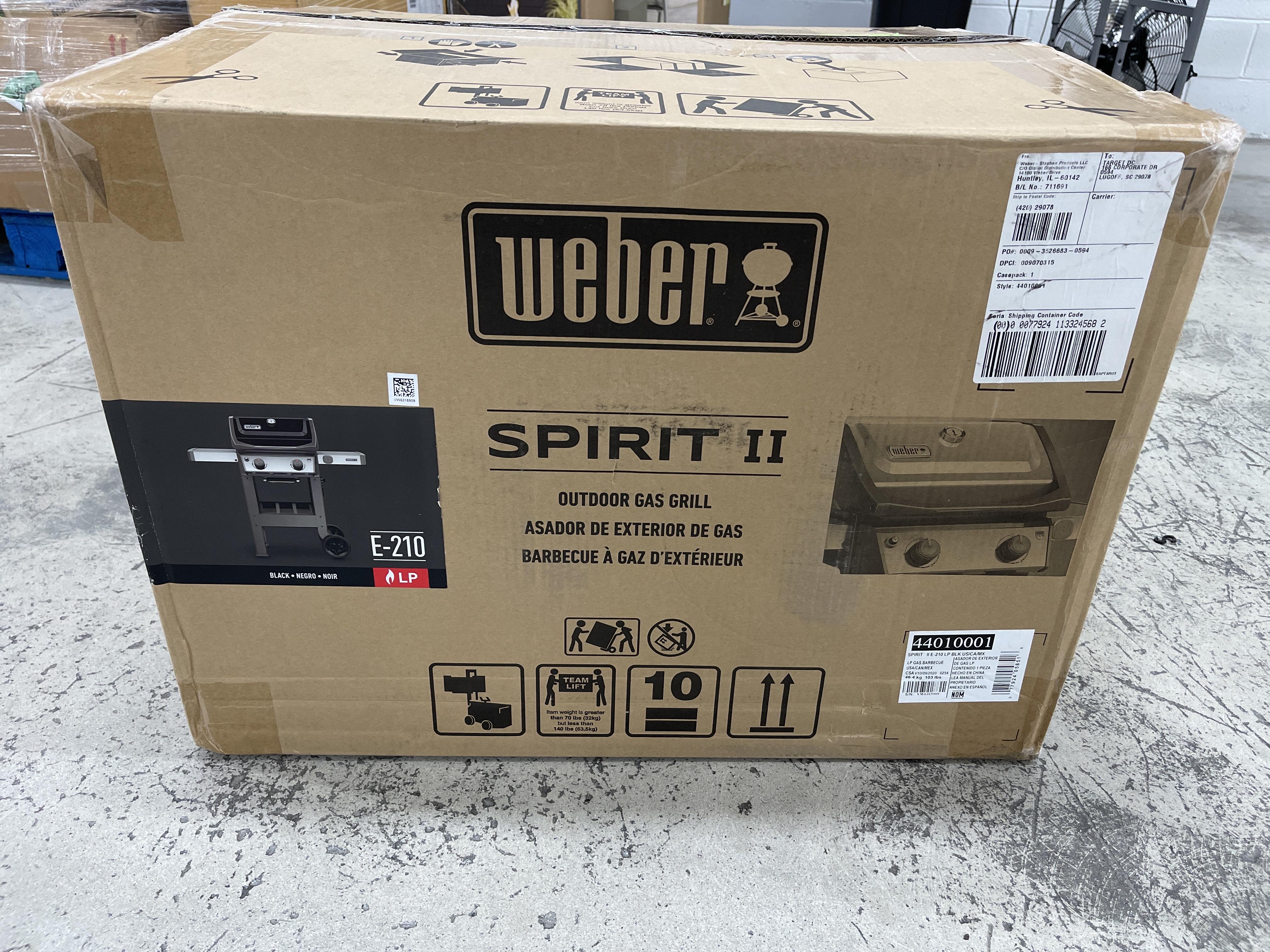 Weber Spirit II Gas Grill
